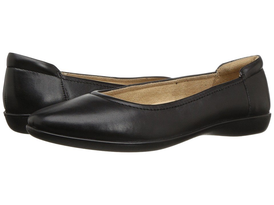 Naturalizer - Flexy (Black Leather) Women's Shoes