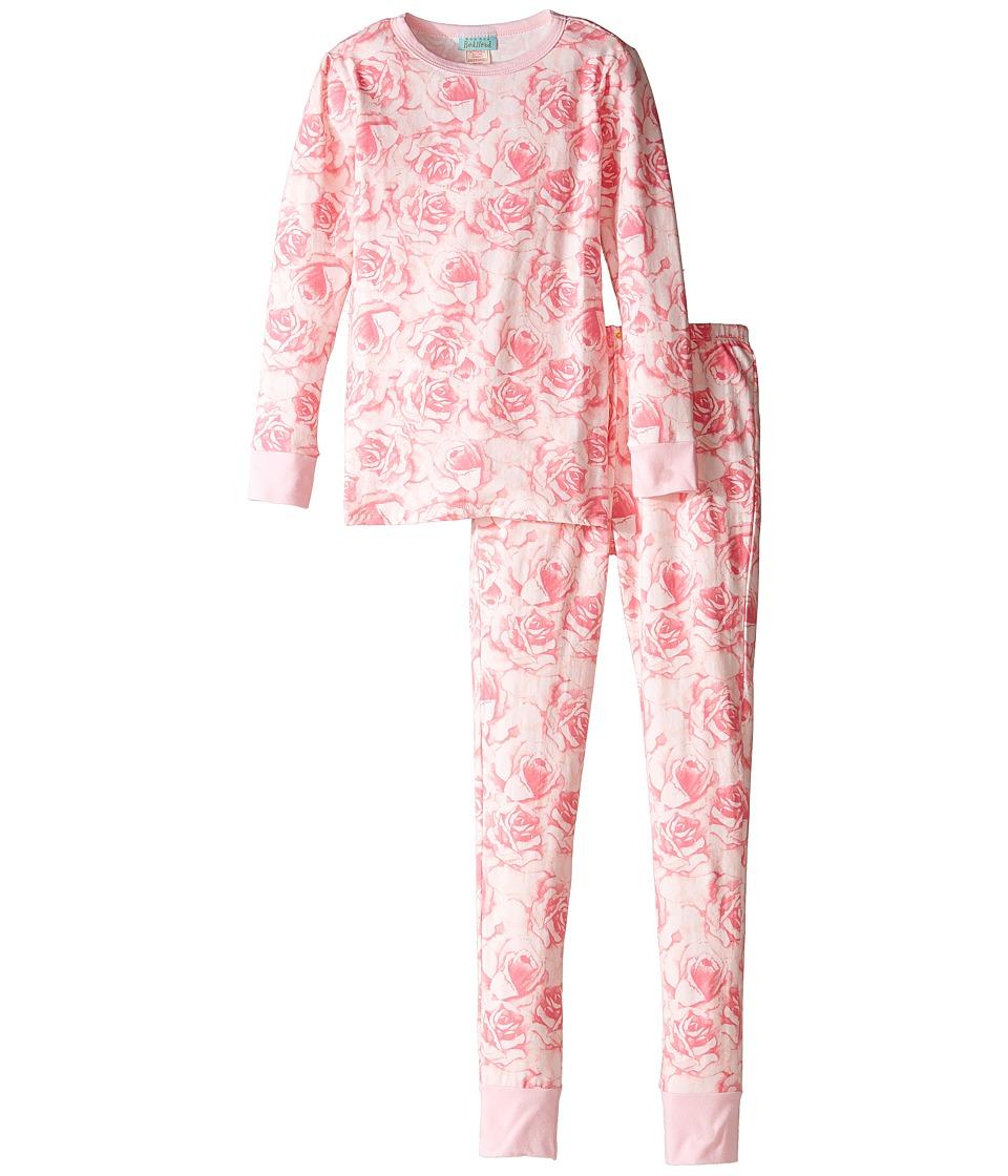 BedHead Kids - Long Sleeve Long Pants Set (Big Kids) (Bed of Roses) Girl's Pajama Sets