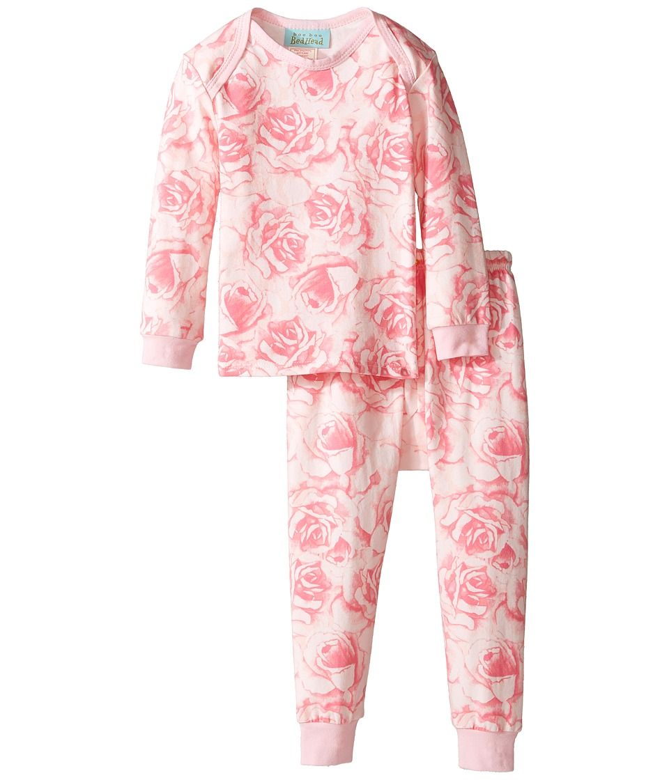 BedHead Kids - Long Sleeve Long Pants Set (Infant) (Bed of Roses) Girl's Pajama Sets