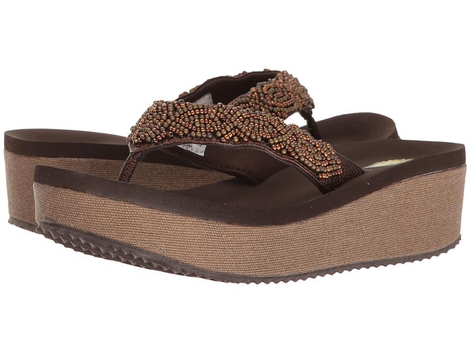 VOLATILE - Macons (Brown) Women's Sandals