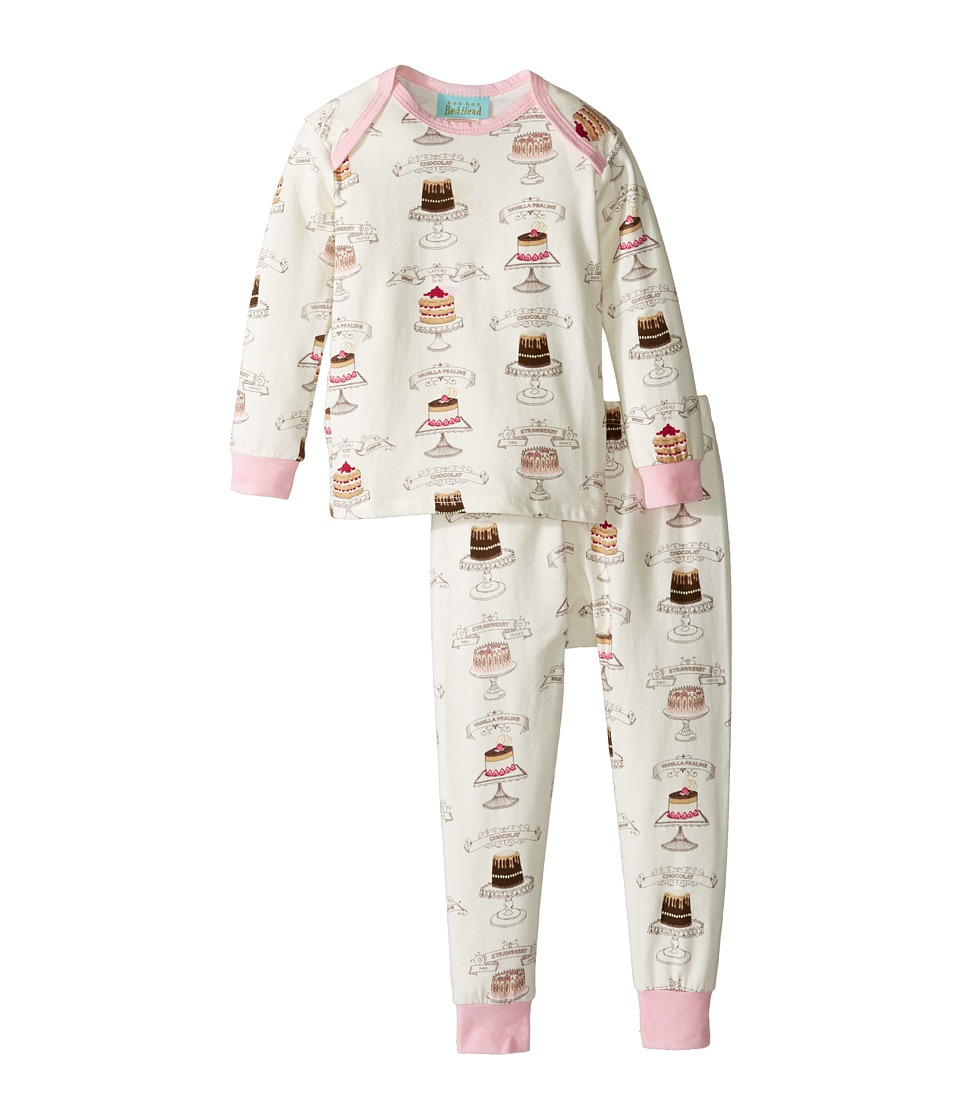 BedHead Kids - Long Sleeve Long Pants Set (Infant) (Let Them Eat Cake) Girl's Active Sets
