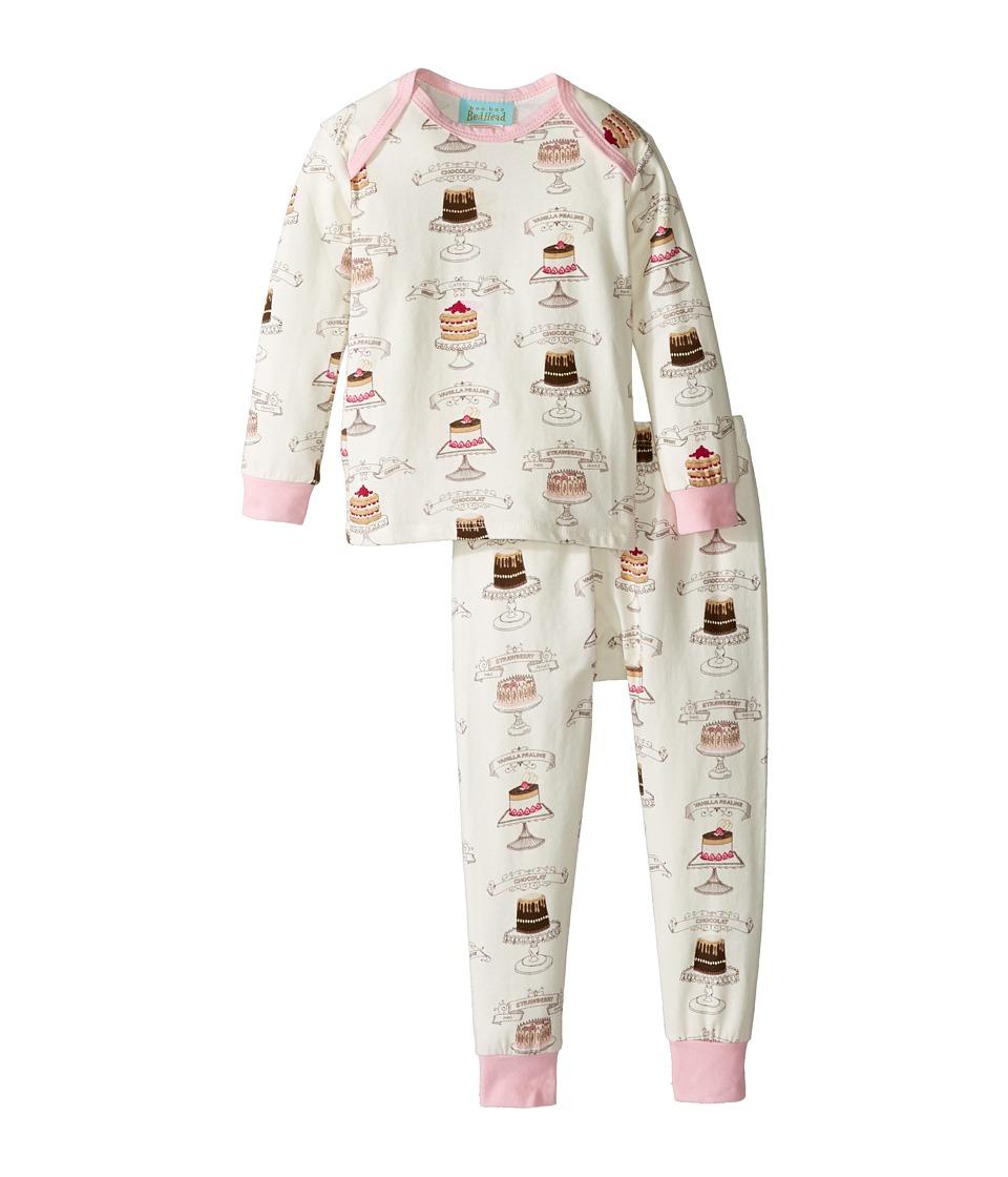 BedHead Kids - Long Sleeve Long Pants Set (Infant) (Let Them Eat Cake) Girl's Active Sets