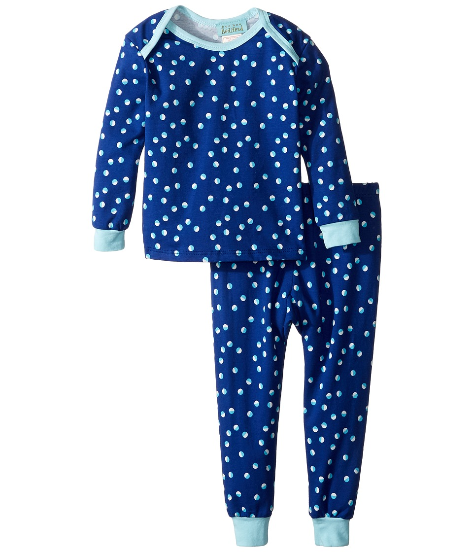 BedHead Kids - Long Sleeve Long Pants Set (Infant) (Demi Dot) Girl's Active Sets