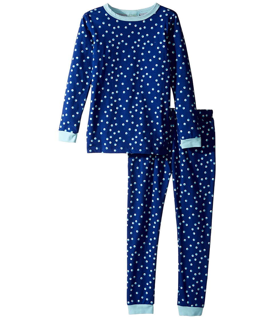 BedHead Kids - Long Sleeve Long Pants Set (Toddler/Little Kids) (Demi Dot) Girl's Pajama Sets