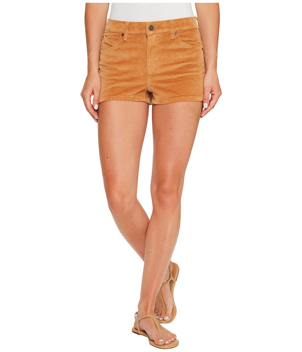 Volcom - 1991 Shorts (Caramel) Women's Shorts