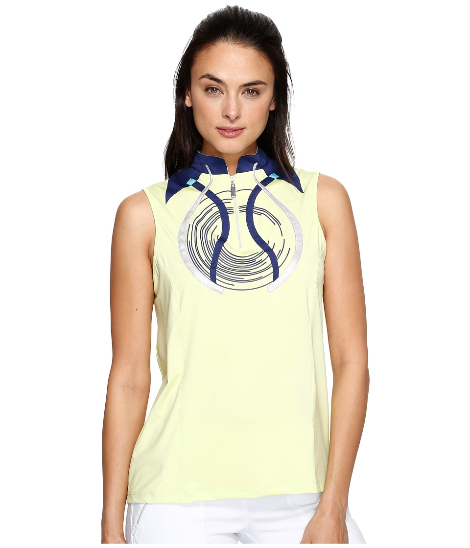 Jamie Sadock - Sleeveless Top (Green Tea) Women's Clothing