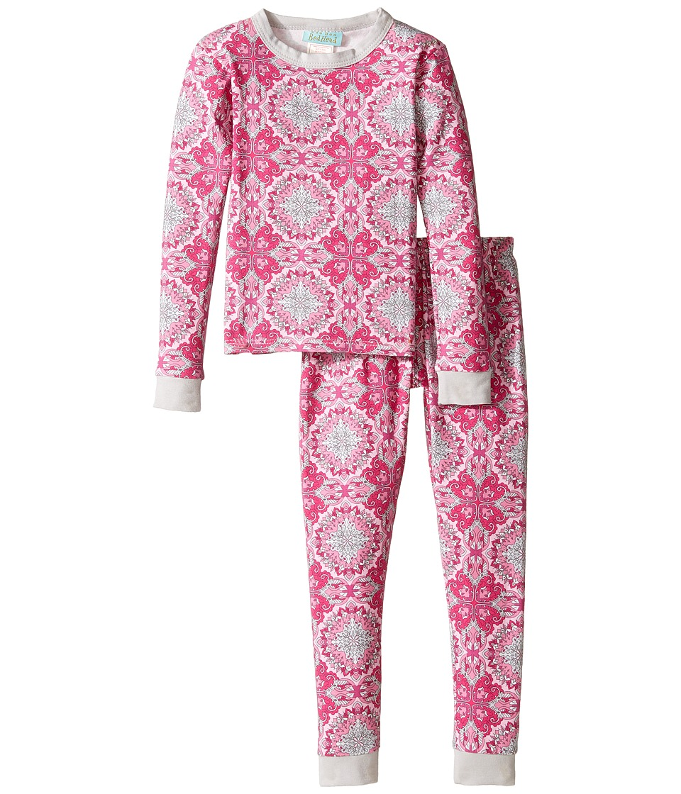 BedHead Kids - Long Sleeve Long Pants Set (Toddler/Little Kids) (Paisley Love) Girl's Pajama Sets