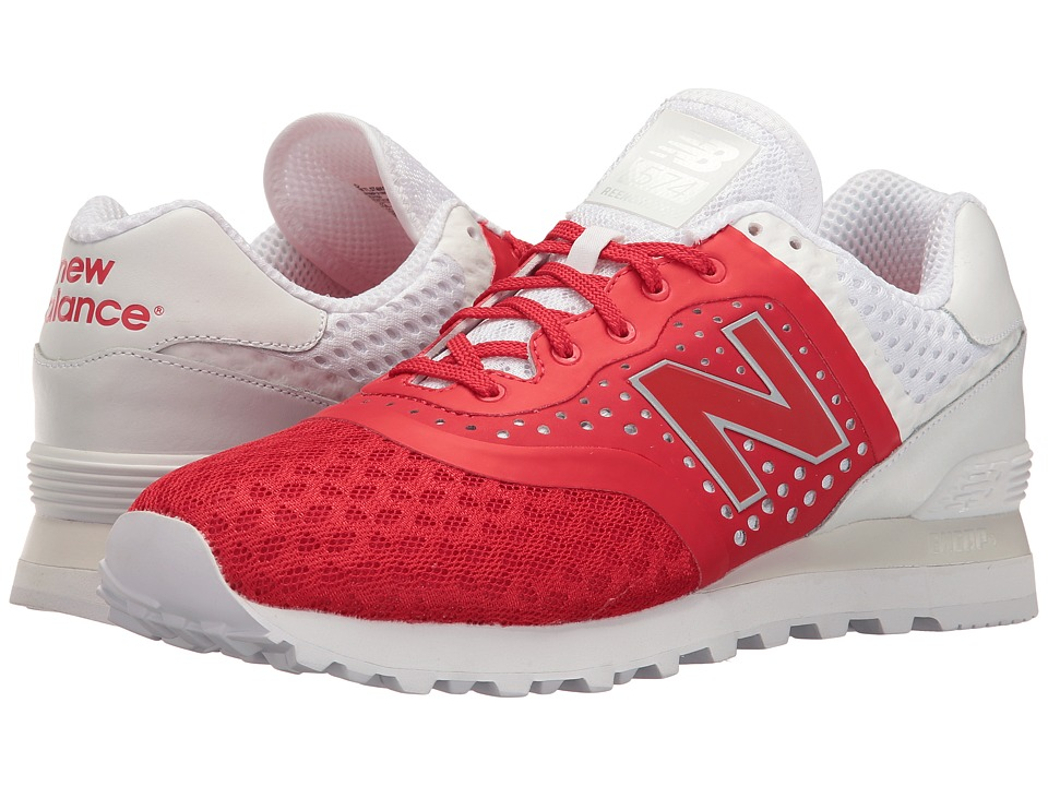 New Balance - Reengineered 574 (Red) Men's Shoes