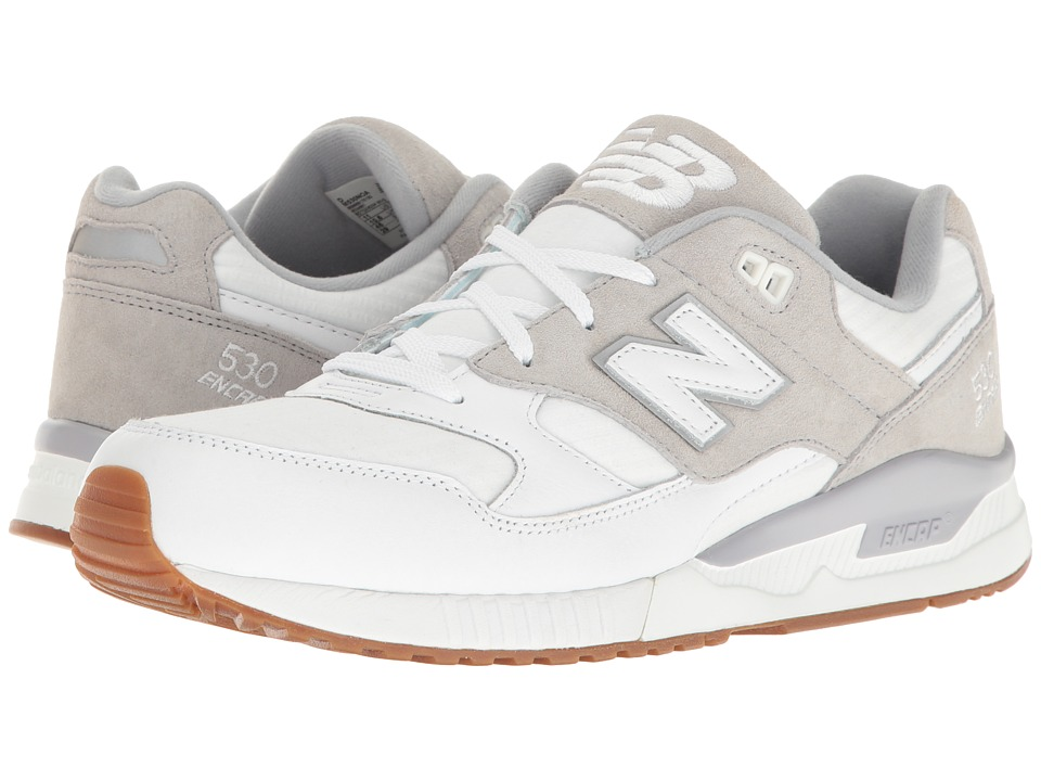 New Balance - M530 (White) Men's Classic Shoes