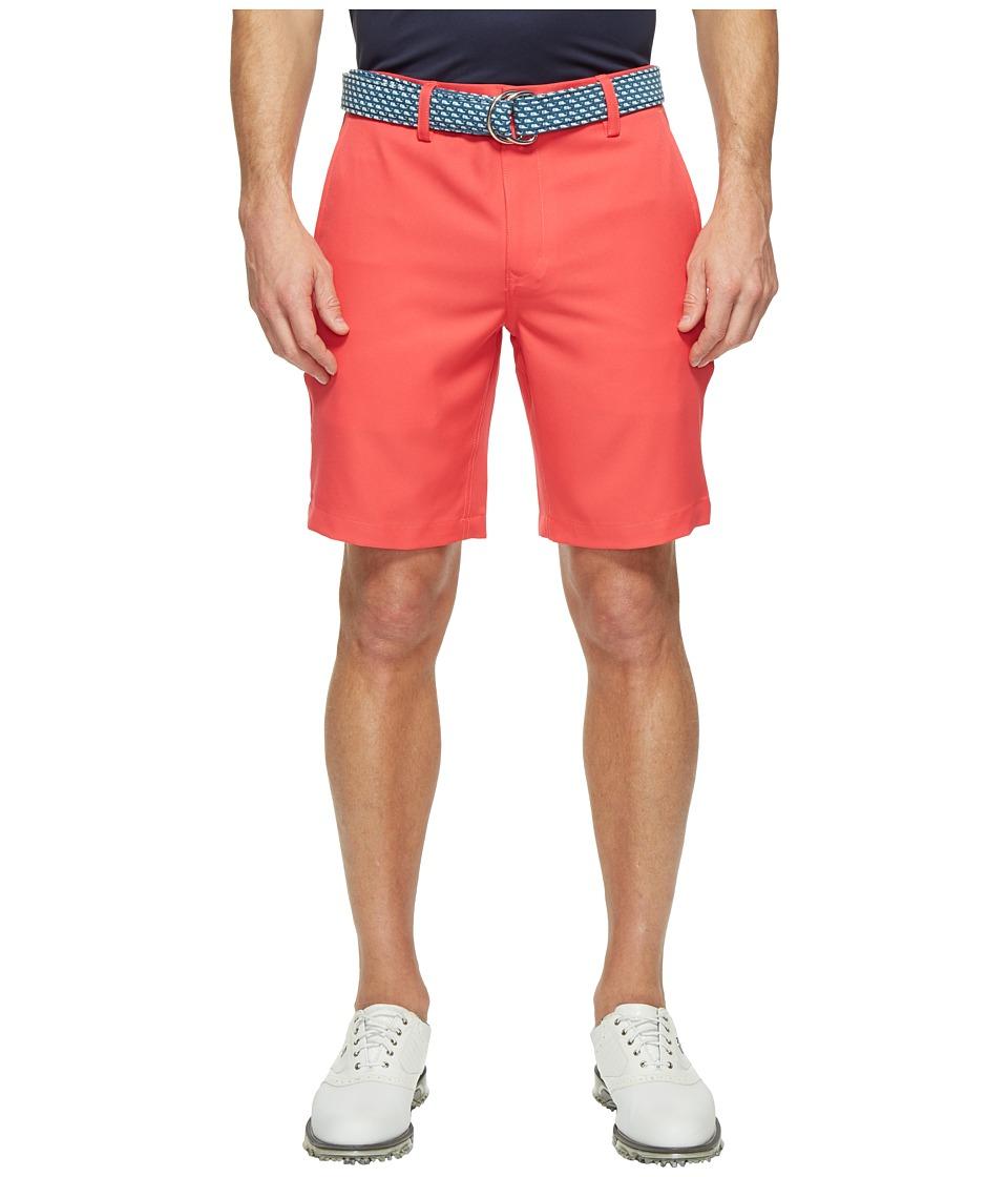 Vineyard Vines Golf - Links Shorts (Coral Red) Men's Shorts