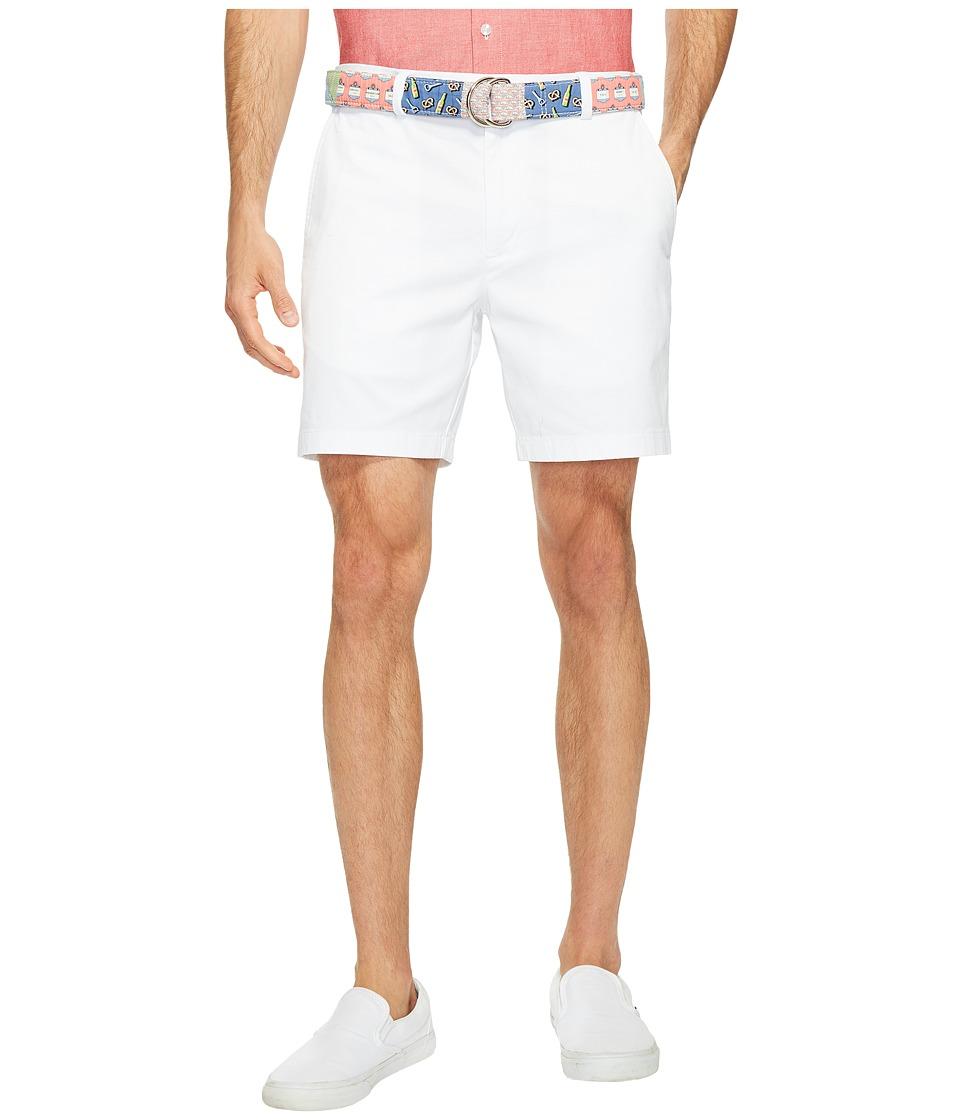 Vineyard Vines - 7 Stretch Breaker Shorts (White Cap) Men's Shorts