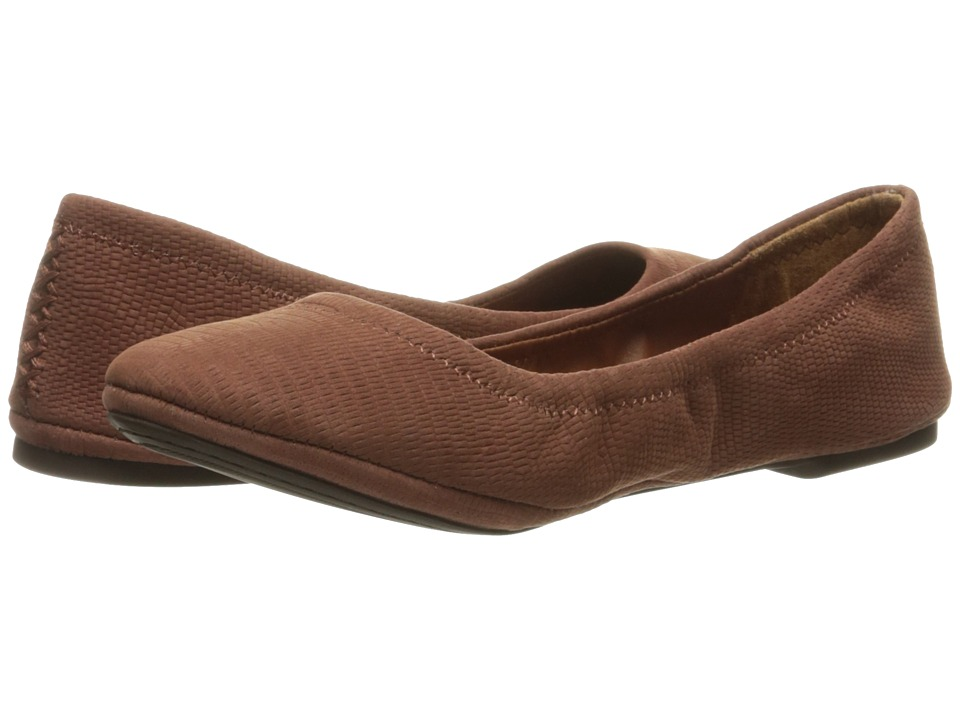 Lucky Brand - Emmie (Russet) Women's Flat Shoes