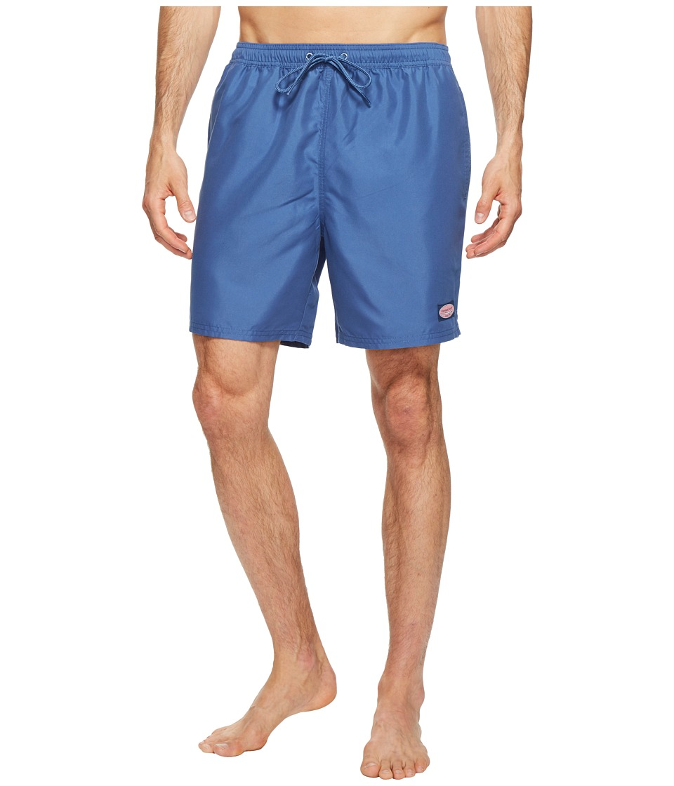 Vineyard Vines - Solid Bungalow Shorts (Moonshine) Men's Shorts