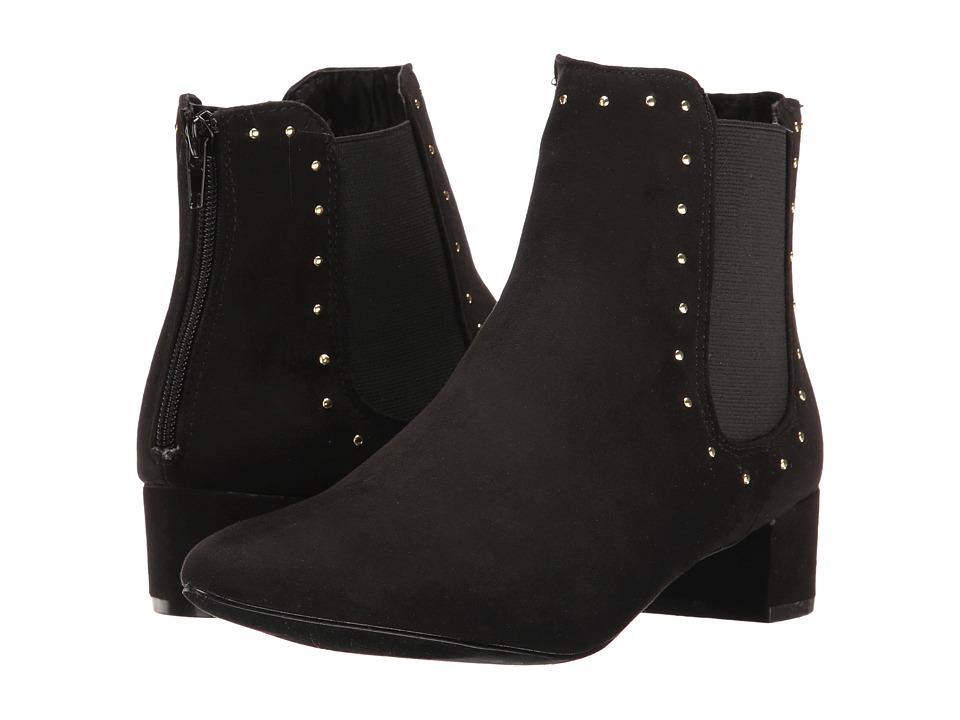 UNIONBAY - Blair-S17 (Black Suede) Women's Shoes