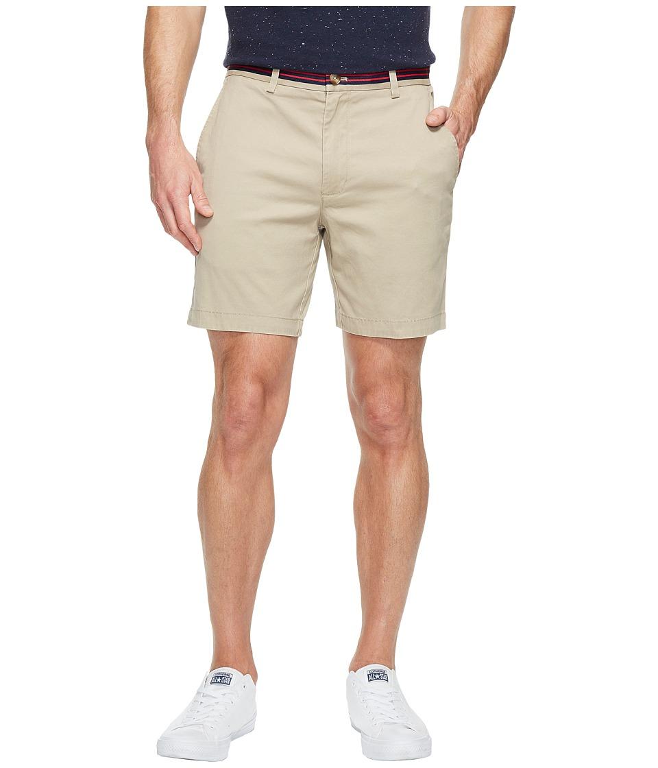 Vineyard Vines - 7 Grosgrain Breaker Shorts (Khaki) Men's Shorts
