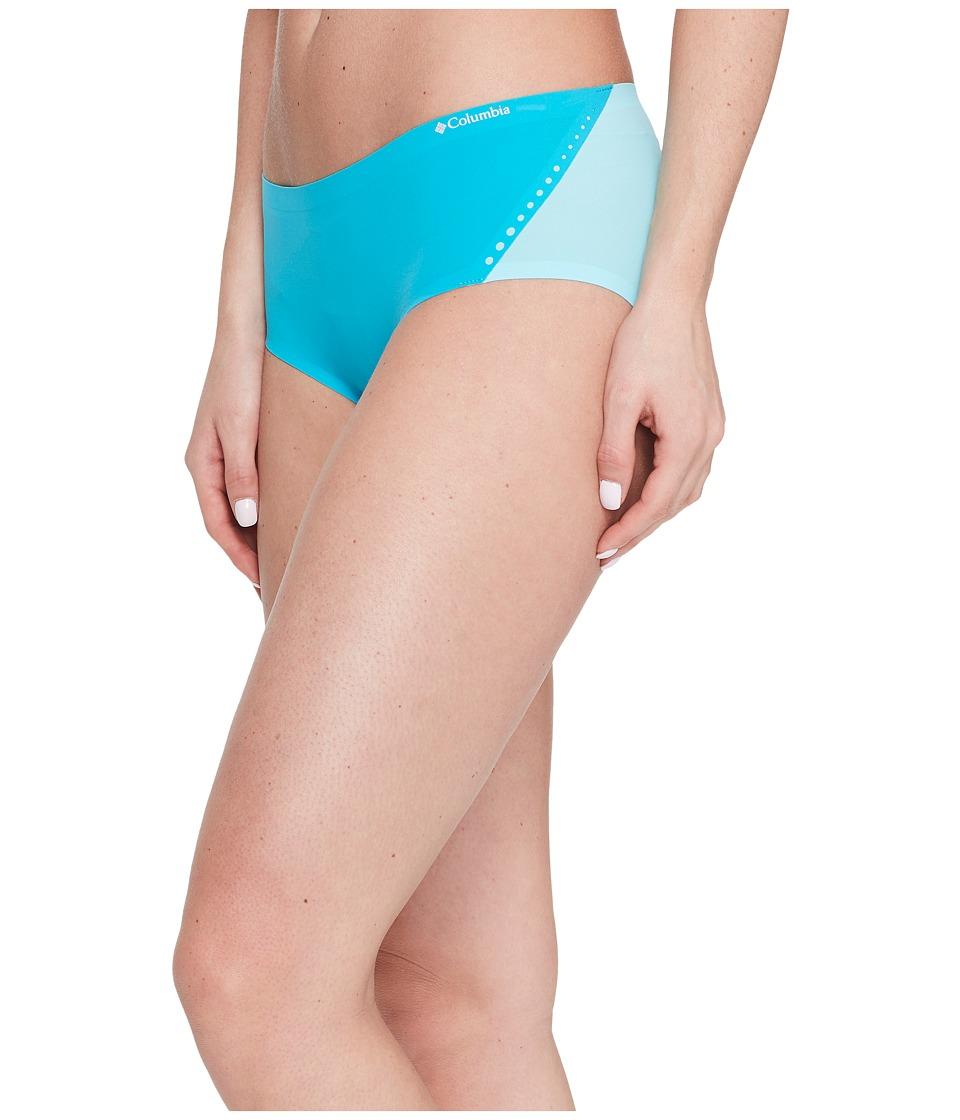 Columbia - Bonded Micro Hipster (Blue Bird/Spring Water) Women's Underwear