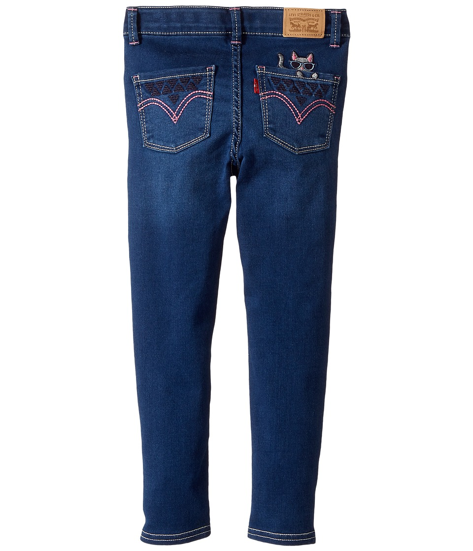 Levi's(r) Kids - 710 Back Pocket Jeans (Little Kids) (Rainfall) Girl's Jeans