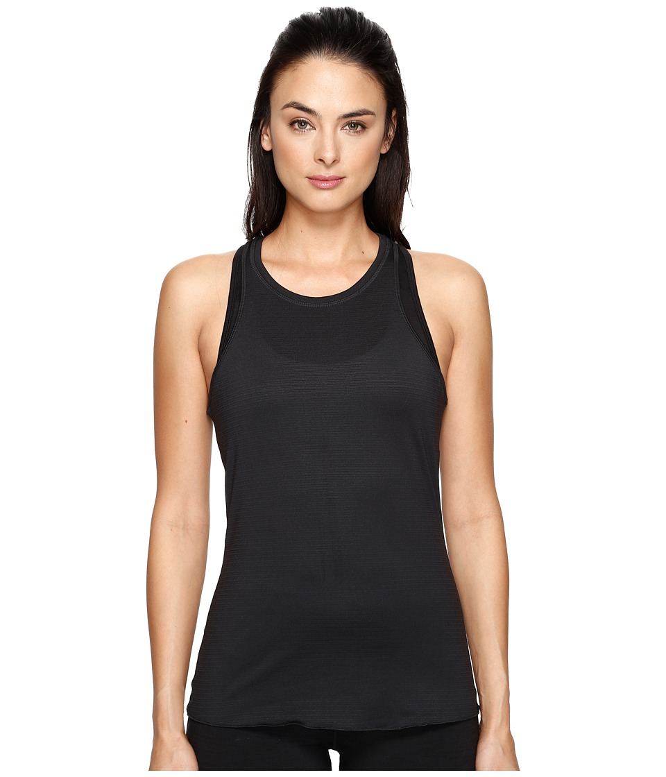 Manduka - Kosha Tank Top Lite (Black) Women's Clothing