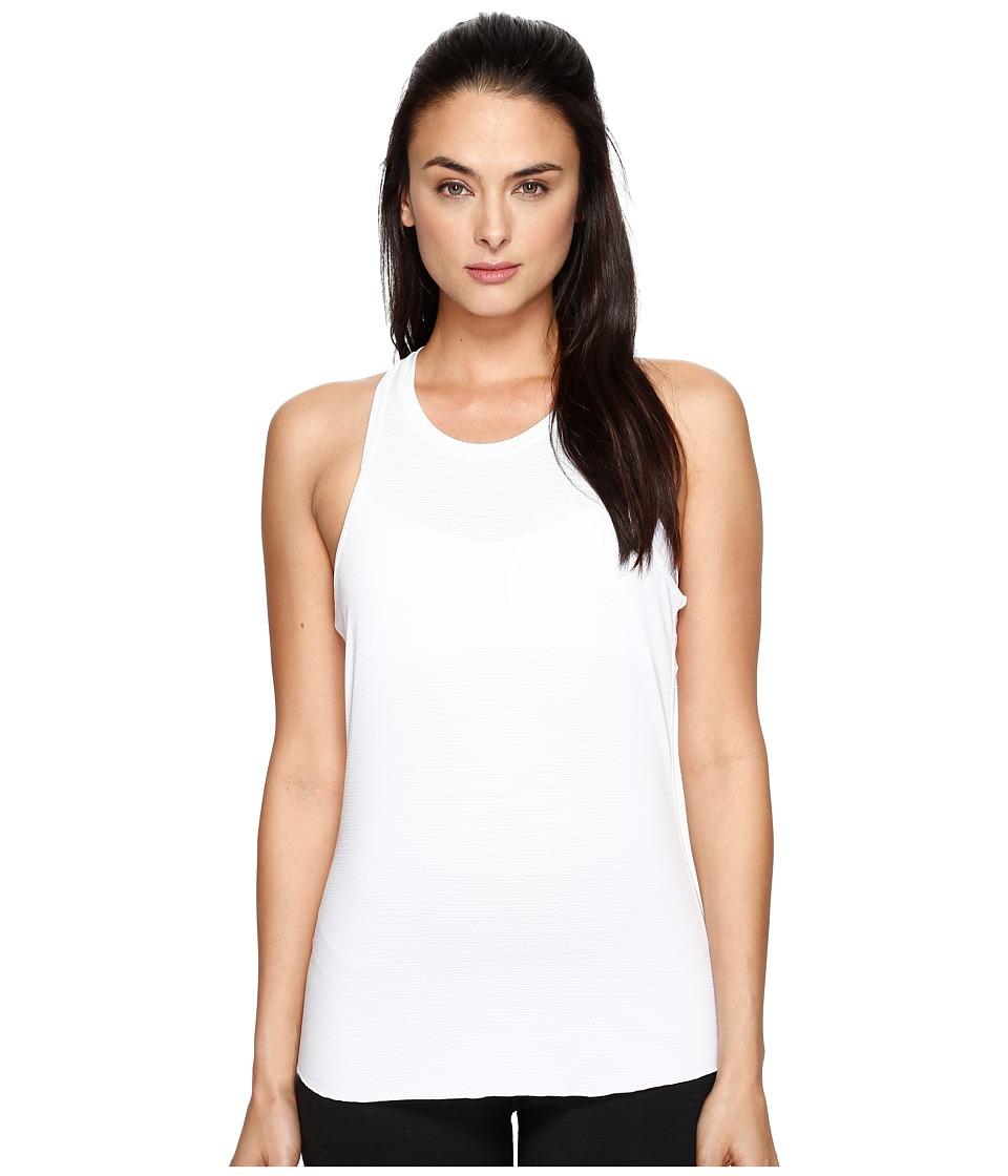 Manduka - Kosha Tank Top Lite (White) Women's Clothing