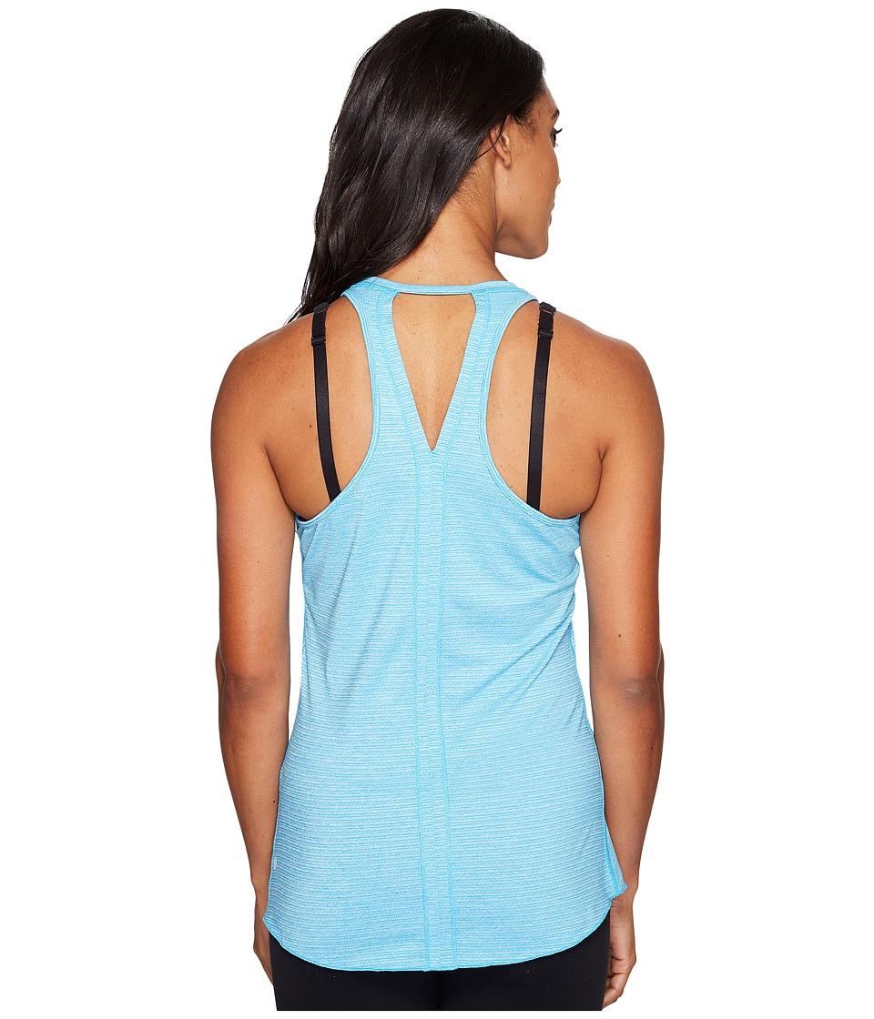 Manduka - Kosha Tank Top Lite (Cyan Blue) Women's Clothing