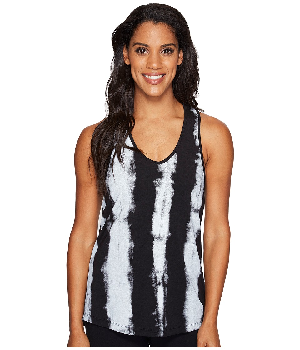 Manduka - Adorn Racer Back Tank Top (Black Print) Women's Clothing