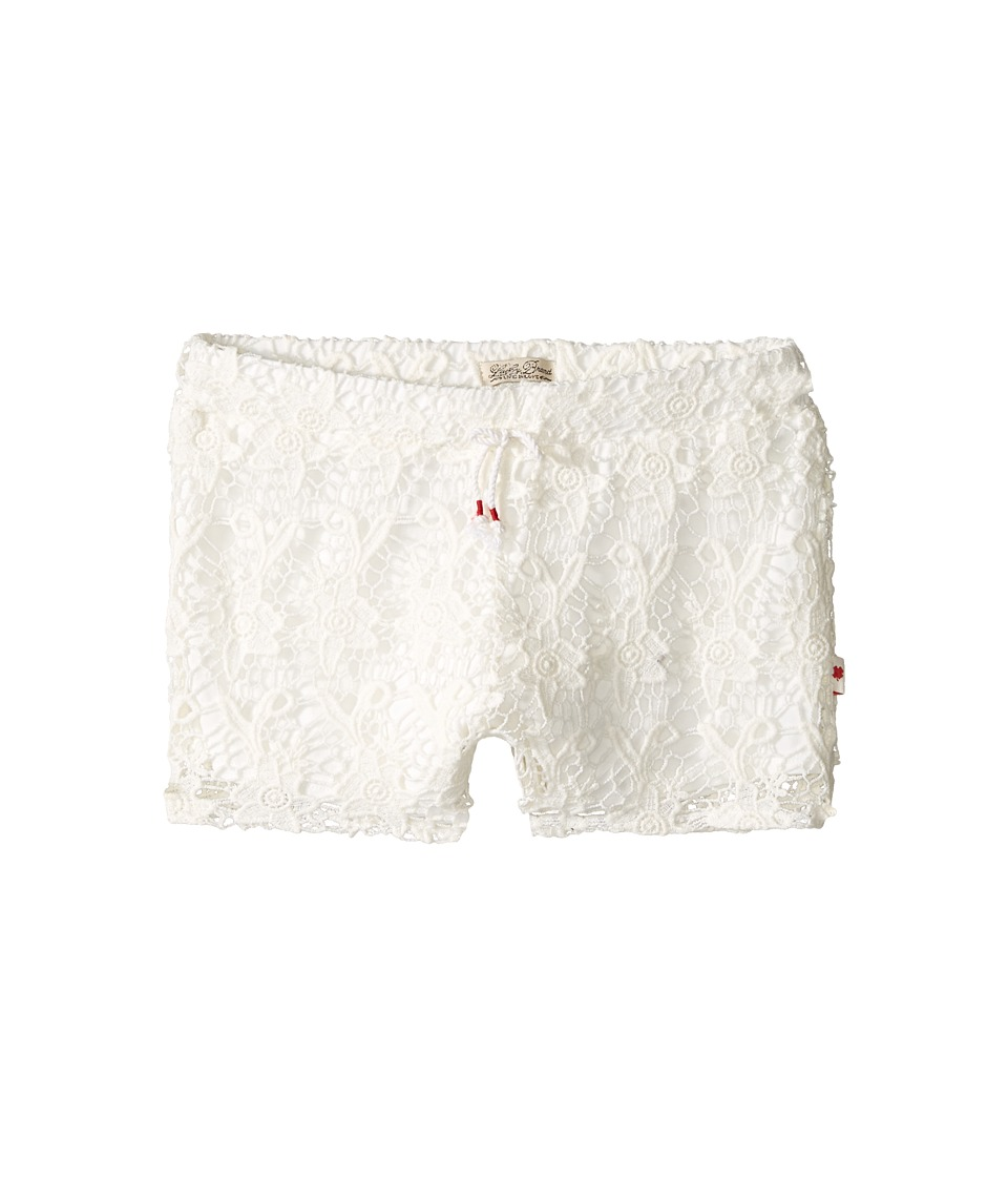 Lucky Brand Kids - Big Crochet Shorts (Big Kids) (Vanilla) Girl's Shorts