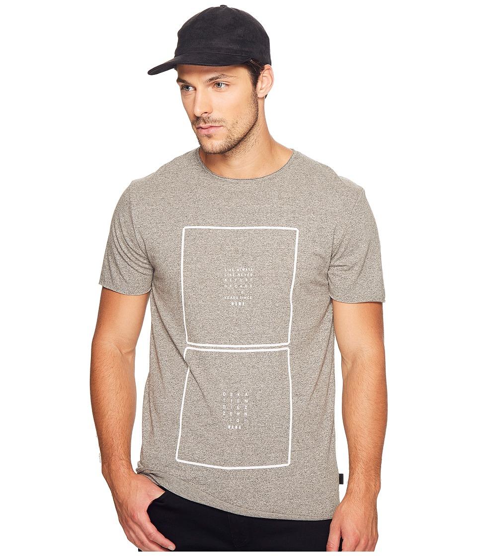 nANA jUDY - The Double Square Tee (Grey Static) Men's T Shirt