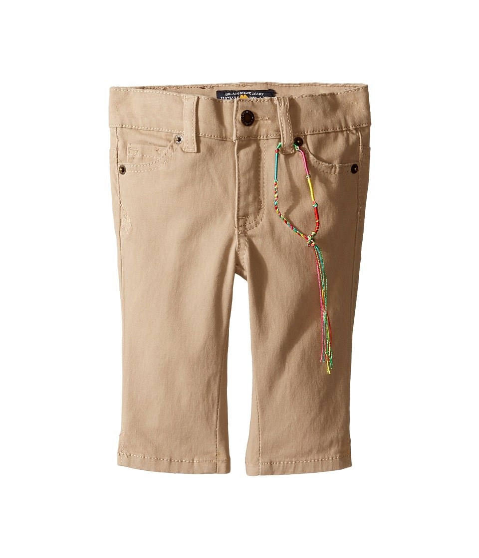Lucky Brand Kids - Zoe Capri Pants with Slits (Toddler) (Sand) Girl's Casual Pants