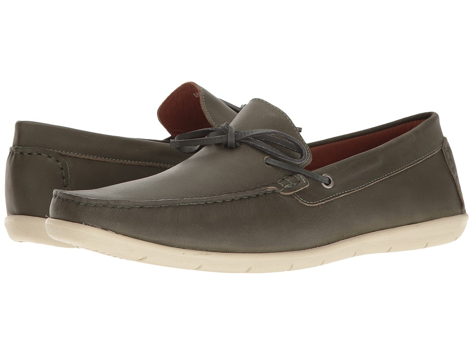Massimo Matteo - Driver 1-Eye (Musgo) Men's Slip on Shoes