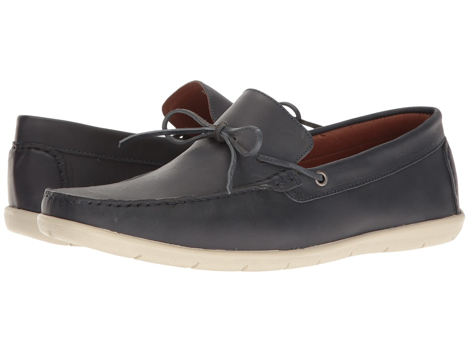 Massimo Matteo - Driver 1-Eye (Anil) Men's Slip on Shoes