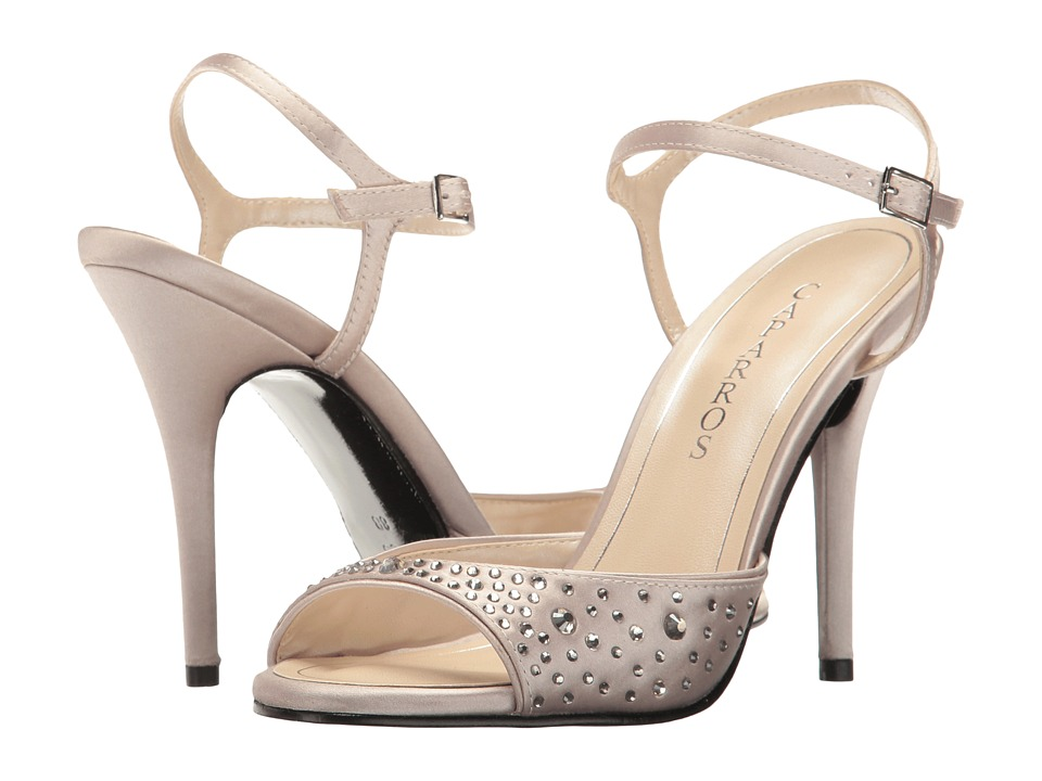 Caparros Ideal (Nude Satin) High Heels