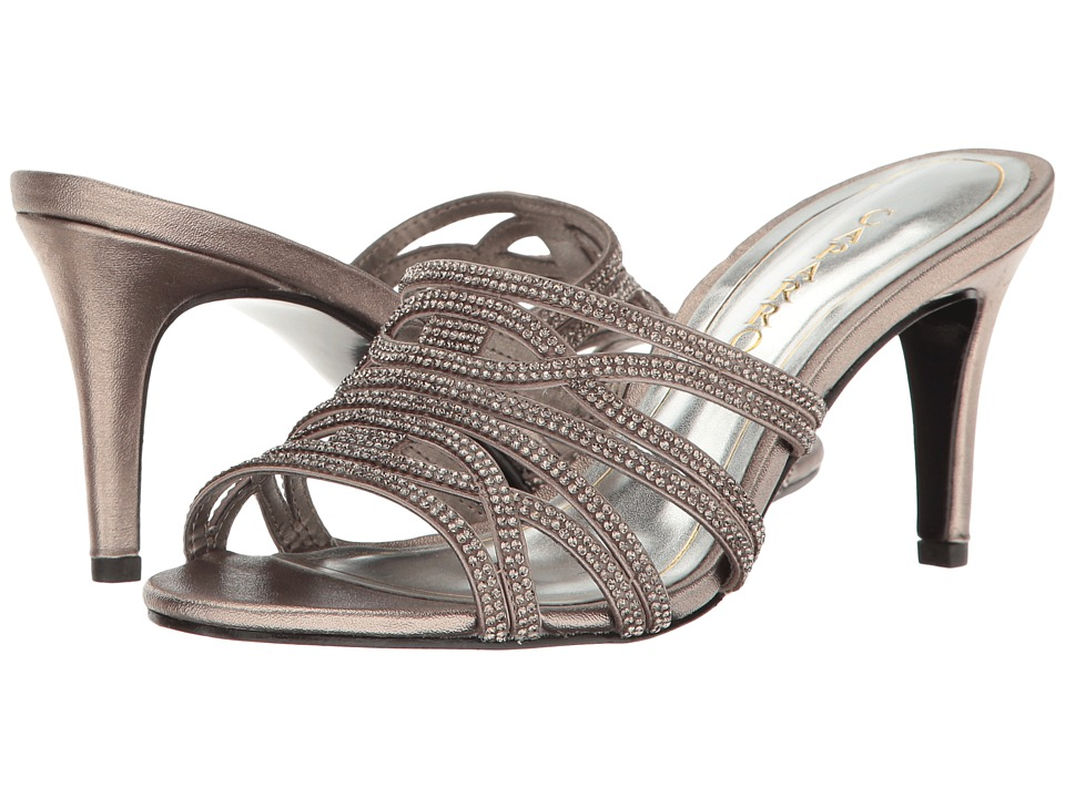 Caparros Impulse (Mushroom Metallic) High Heels