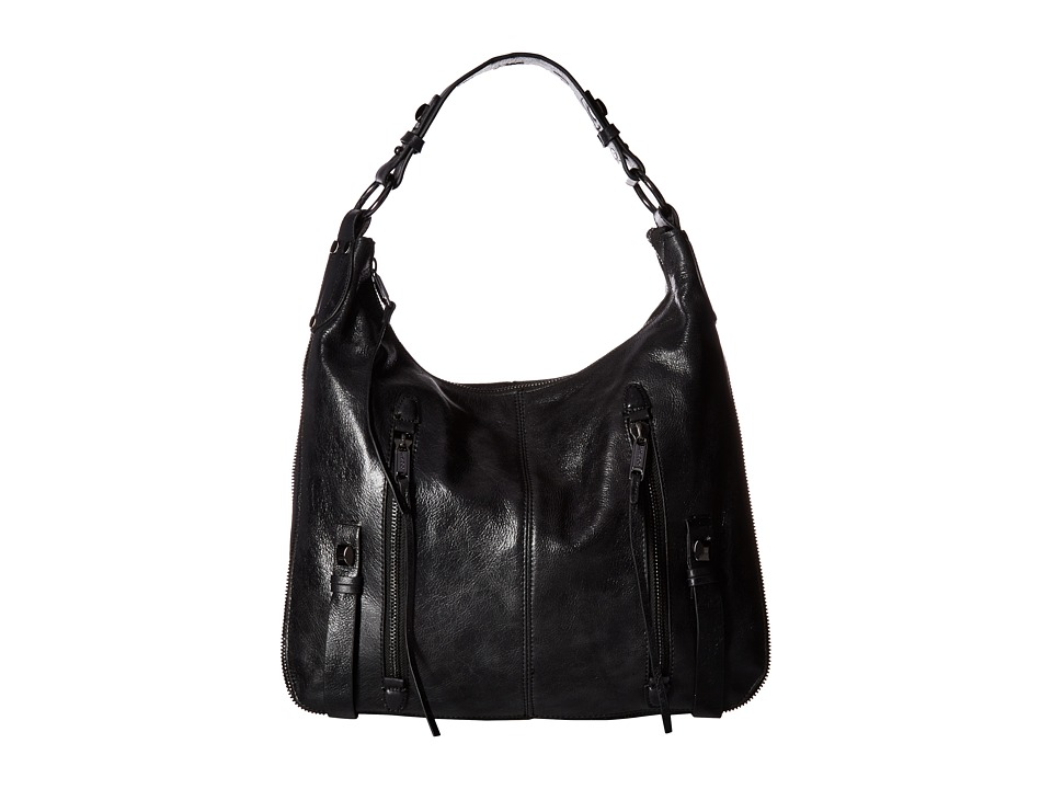 Joe's Jeans - Crosby Hobo (Black) Hobo Handbags