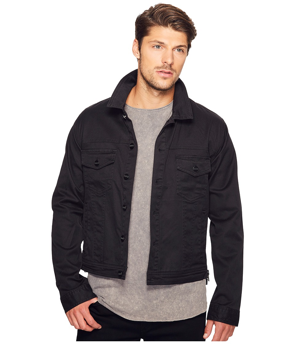 nANA jUDY - The Eagle Rock Denim Jacket (Wax Black) Men's Coat