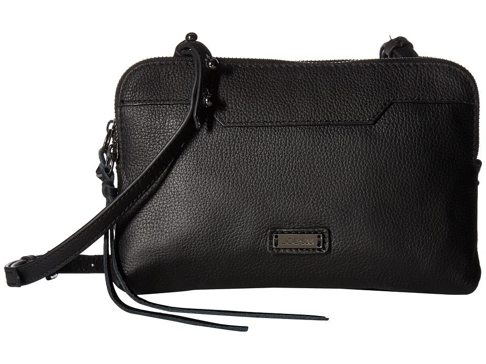 Joe's Jeans - Joey Crossbody (Black) Cross Body Handbags