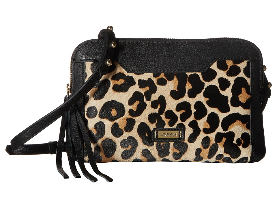 Joe's Jeans - Joey Crossbody (Leopard Haircalf) Cross Body Handbags