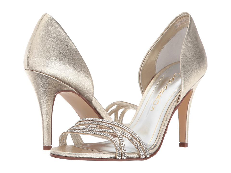 Caparros Irina (Plat Metal/Tinted Stones) High Heels