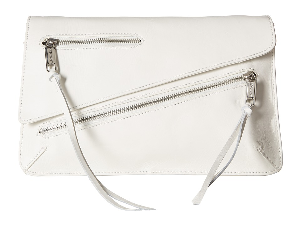 Joe's Jeans - Josie Convertible Clutch (White 1) Clutch Handbags