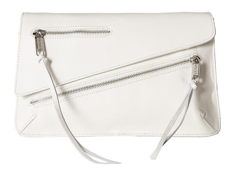 Joe's Jeans - Josie Convertible Clutch (White 1) Clutch Handbags