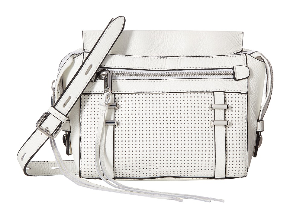 Joe's Jeans - Raven Satchel Crossbody (White) Cross Body Handbags