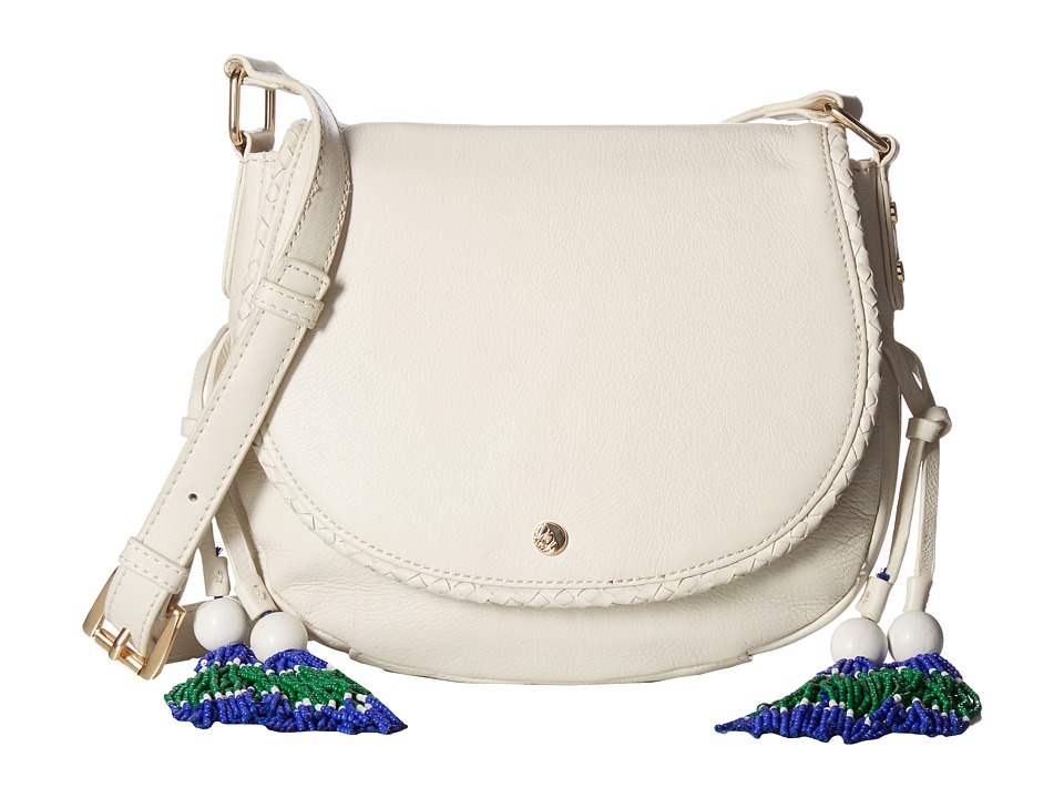 Tommy Bahama - Mykonos Saddle Bag (White Sand) Cross Body Handbags