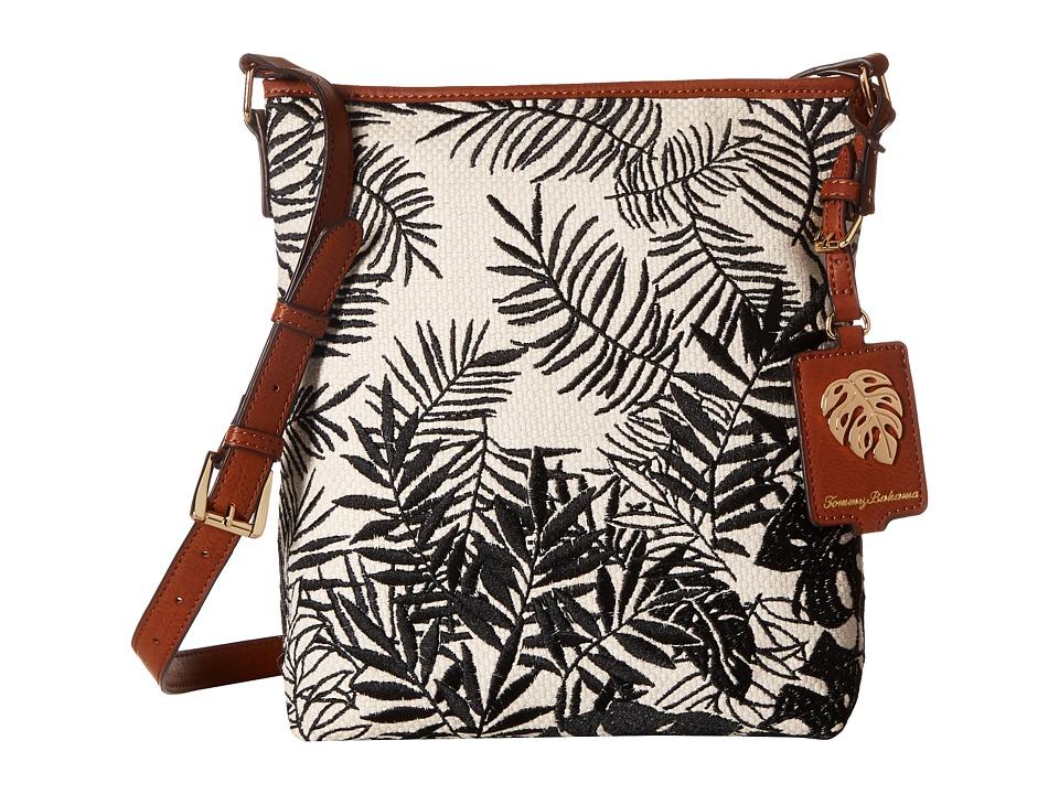 Tommy Bahama - Palm Beach Crossbody (Black/Cream) Cross Body Handbags