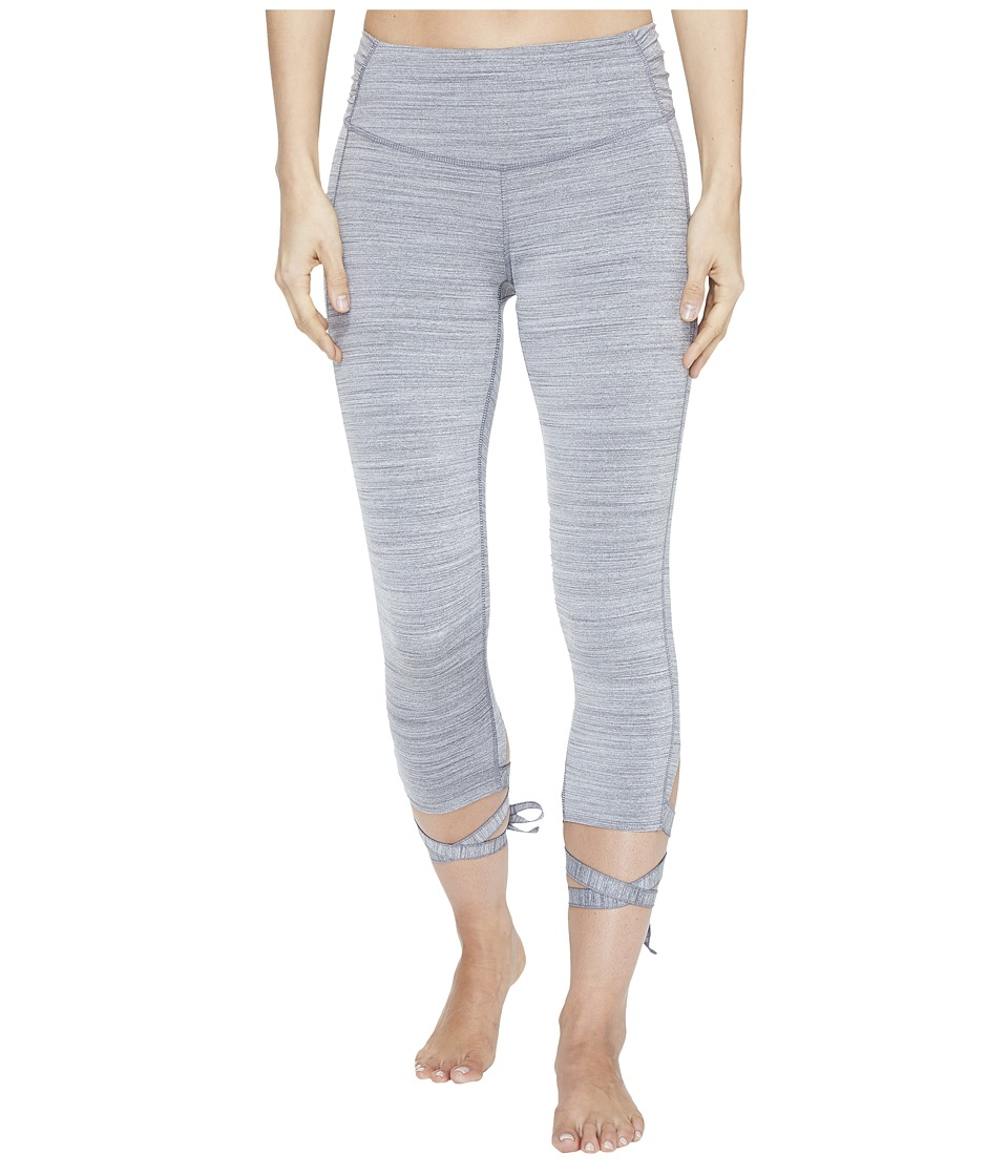 Manduka - Flux Tights (Dark Grey Heather) Women's Shorts