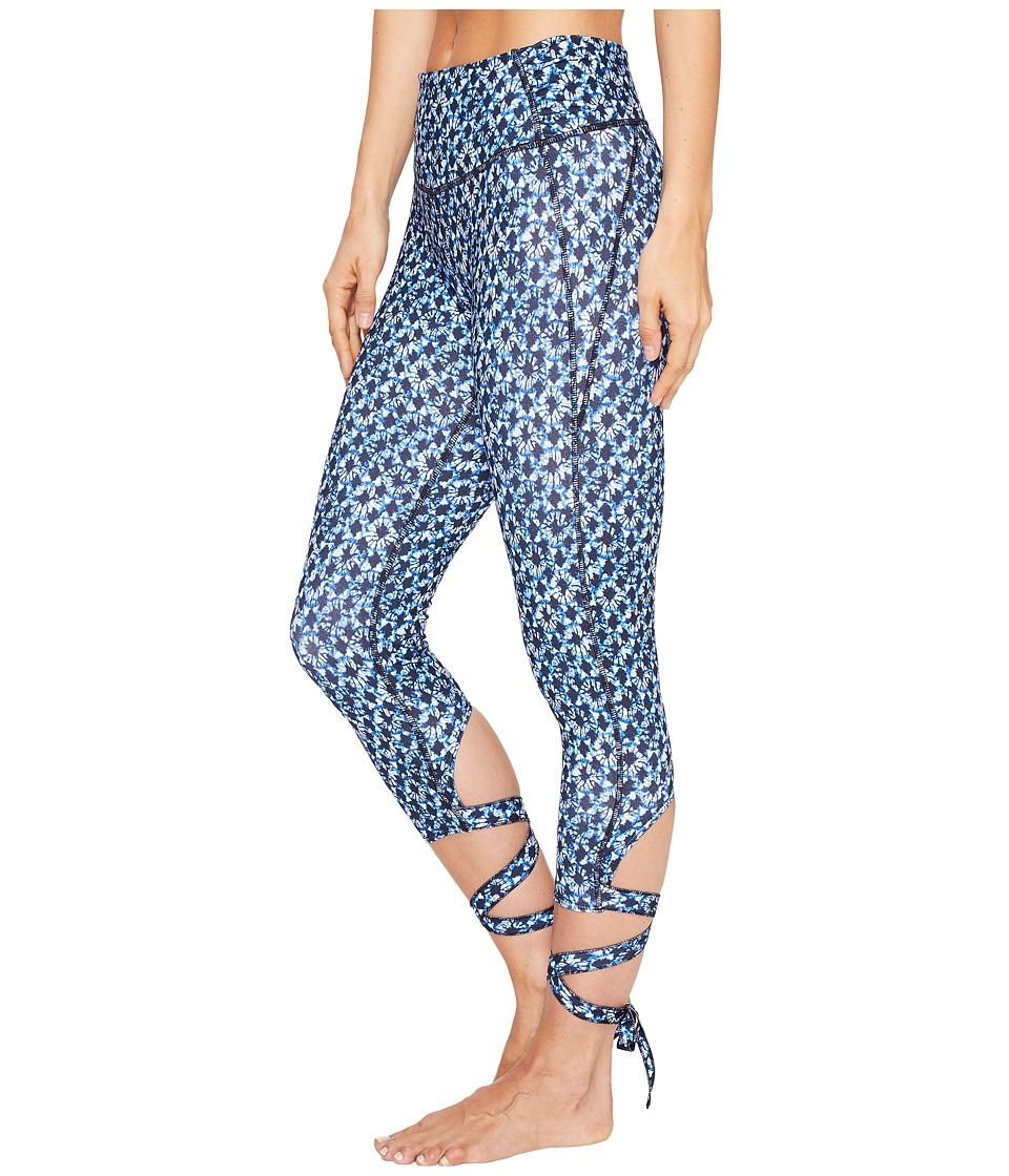 Manduka - Flux Tights (Tile Print) Women's Shorts