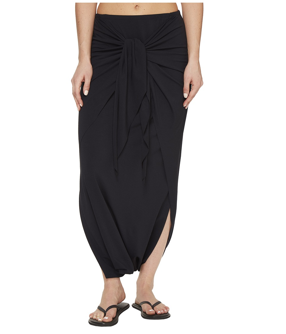 Manduka - Harem Wrap (Black) Women's Skirt