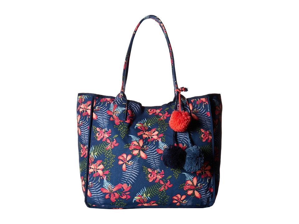 Tommy Bahama - Maui Beach Tote (Navy Iris) Tote Handbags