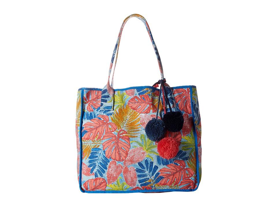 Tommy Bahama - Maui Beach Tote (Artsy Leaf) Tote Handbags