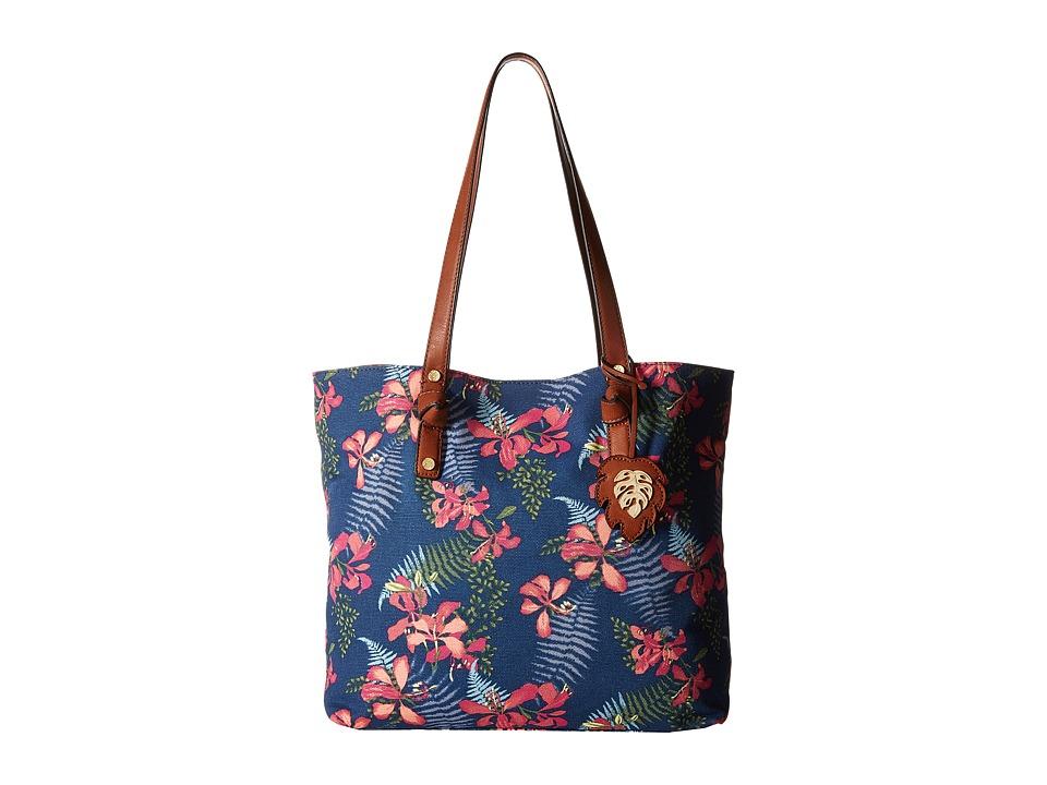 Tommy Bahama - Maui Market Tote (Navy Iris) Tote Handbags
