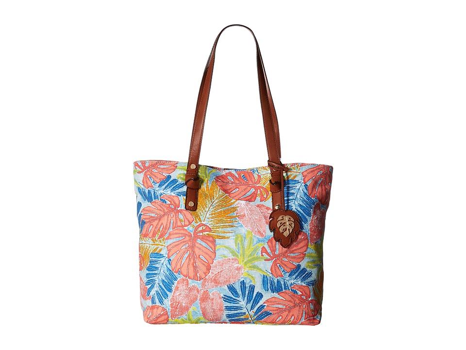 Tommy Bahama - Maui Market Tote (Artsy Leaf) Tote Handbags