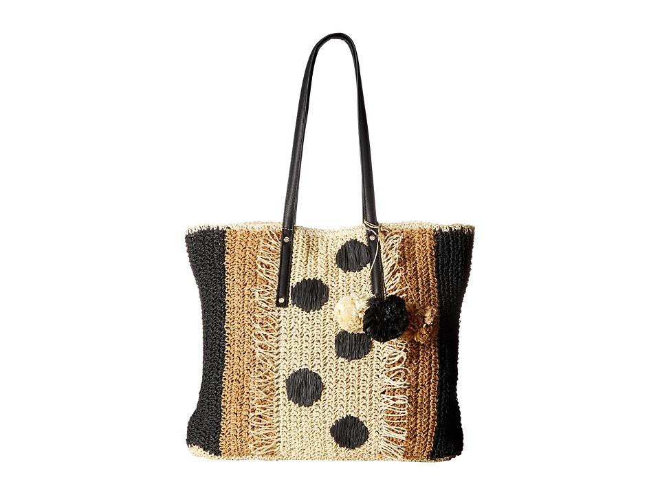 Tommy Bahama - Mama Tote (Black Multi) Tote Handbags